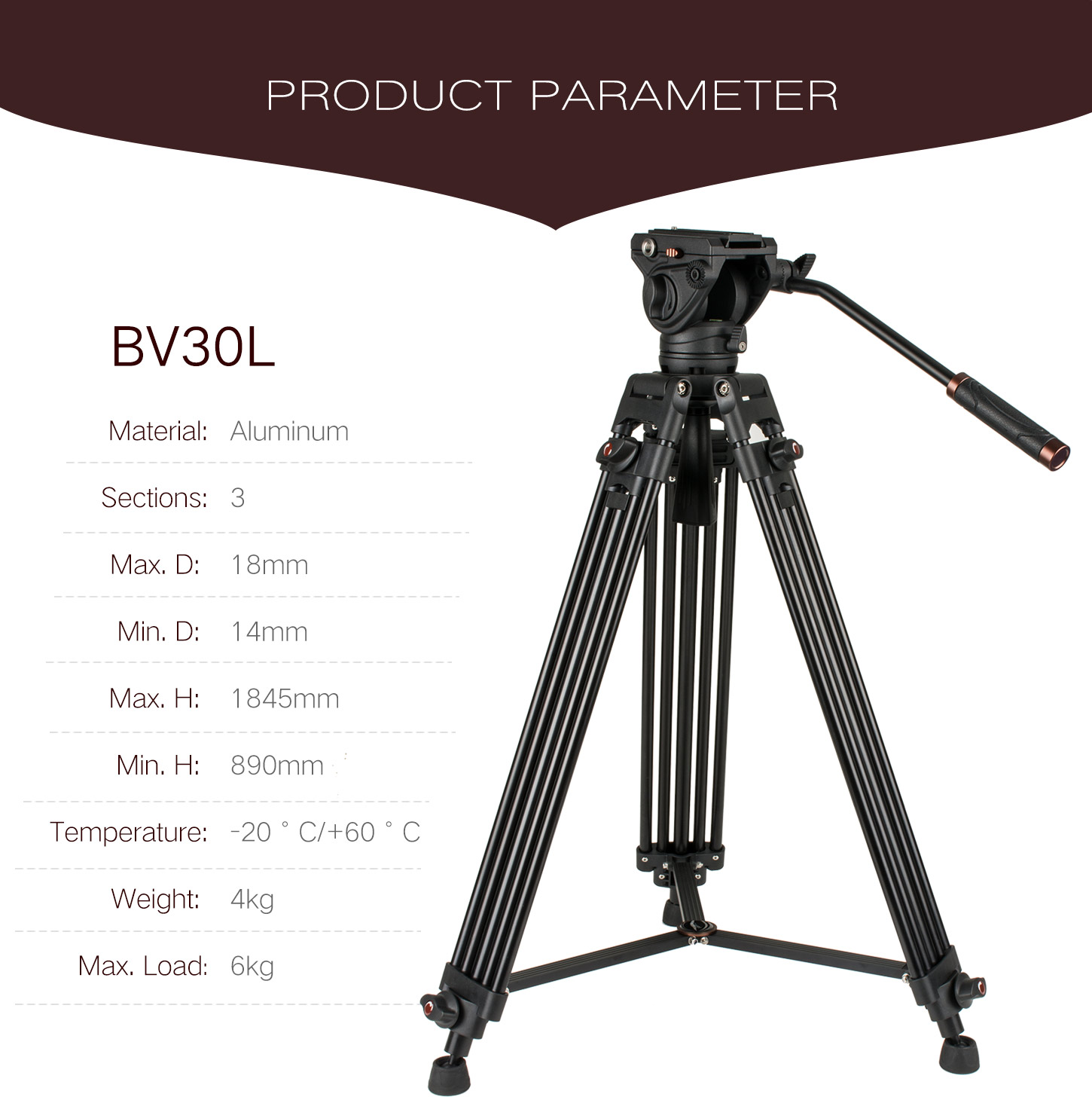 Photography TripodVideo|Tripod|Monopod Kit|Ball Head
